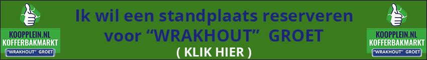 Inschrijven Wrakhout in Groet